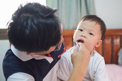 Decreasing the chances of infant cavities